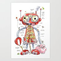 The Automaton Of Astound… Art Print