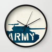 The Love Army Wall Clock