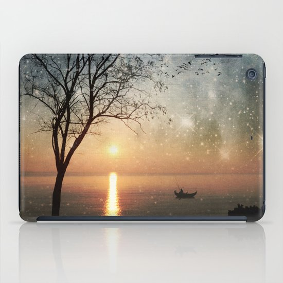 The old man and the sea iPad Case