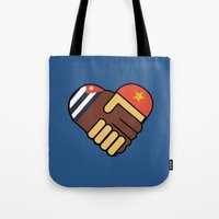 Hands Of Friendship Tote Bag
