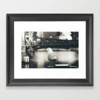 Broaden your horizons Framed Art Print