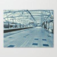 LRT Station  Canvas Print