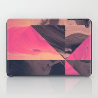 Triangular Magma iPad Case
