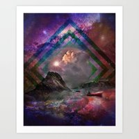 Set adrift... Art Print