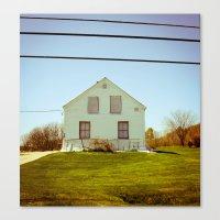A Home Canvas Print