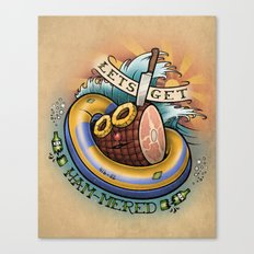 Let's Get Ham-mered! Canvas Print
