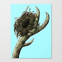 The Horn Canvas Print