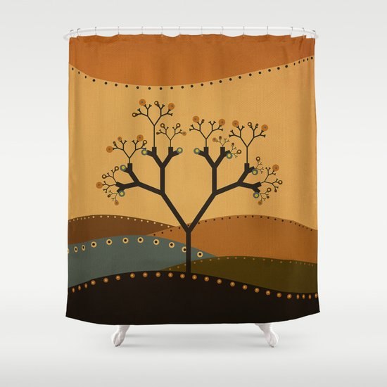 Textures/Abstract 142 Shower Curtain