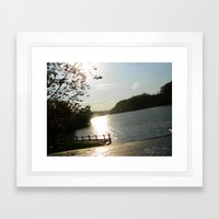 calm life Framed Art Print
