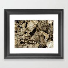 AGLOE, NEW YORK  Framed Art Print