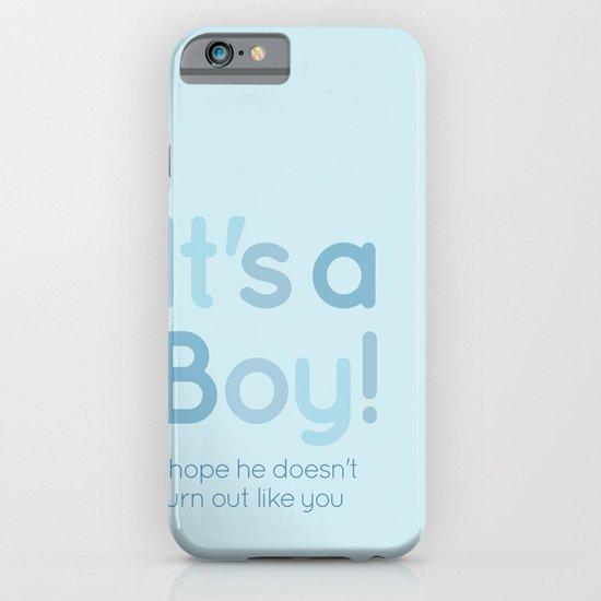 It's a boy! iPhone & iPod Case