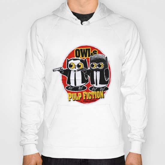 Owls Pulp Fiction Hoody