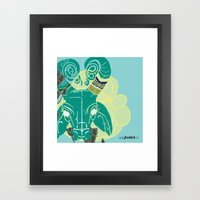Bullseye Framed Art Print