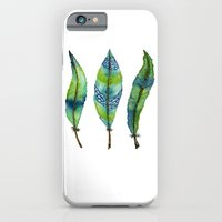 Mystic Sea Feather Trio iPhone 6 Slim Case