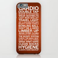 iPhone & iPod Case featuring Zombieland — The Rules by Martin Lucas