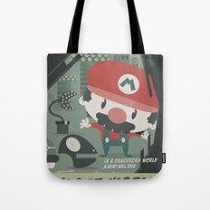 mario bros 4 fan art Tote Bag