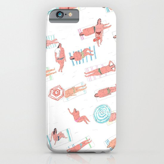 top less beach iPhone & iPod Case