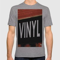 Vinyl Mens Fitted Tee Athletic Grey SMALL