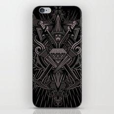 Crest Craft Black iPhone & iPod Skin
