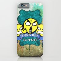 iPhone & iPod Case featuring Fuck Off by ys7ven