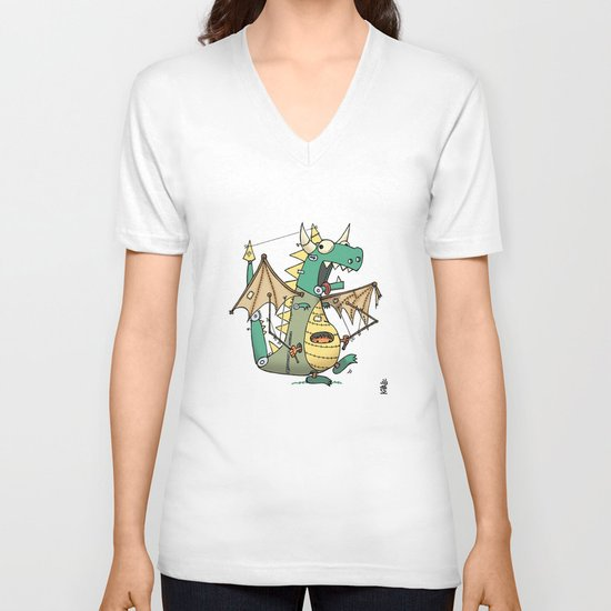 A Kobold in Dragon Clothing V-neck T-shirt