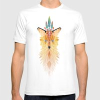 fox spirit  Mens Fitted Tee White SMALL