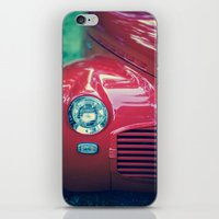 The Cool Factor (Red) iPhone & iPod Skin