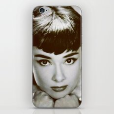 Presenting Miss Hepburn iPhone & iPod Skin