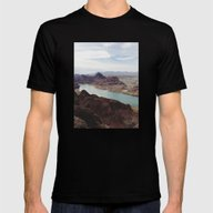 The Colorado River Mens Fitted Tee Black SMALL