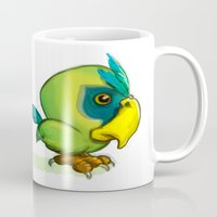Green Parrot Mug