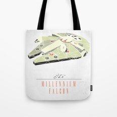 The Millennium Falcon Tote Bag