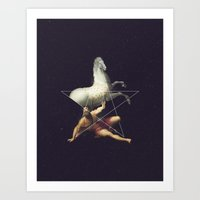 NOT The Conversion Of St… Art Print