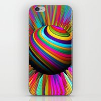 A World Of Color iPhone & iPod Skin