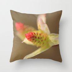 Salix Flamingo Throw Pillow