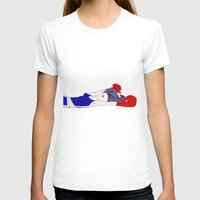 Shadowboxer Womens Fitted Tee White SMALL