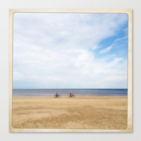 Ride Your Bycicle Canvas Print