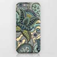 Indian Floral Paisley Pa… iPhone 6 Slim Case