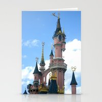 Disneyland Castle Paris Stationery Cards
