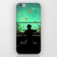 Le Pianoquarium iPhone & iPod Skin