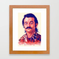 Young Mr. Bill Murray Framed Art Print