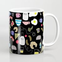 Breakfast pattern Mug