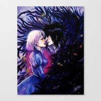 Heart Eater Canvas Print