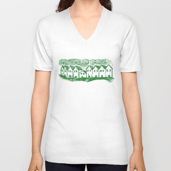 Sad Row V-neck T-shirt