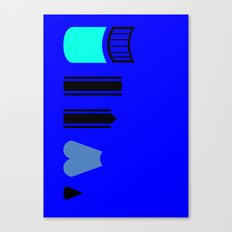 What a pencil looks like Canvas Print