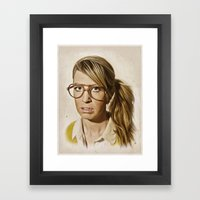 I.am.nerd. : Lizzy Framed Art Print