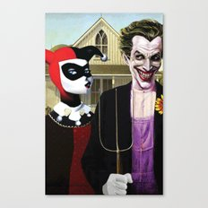 Why So American Gothic? Canvas Print
