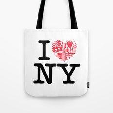 I everything NY Tote Bag