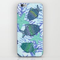 My Colourful Fishes iPhone & iPod Skin