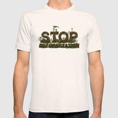 Save Kodamas Mens Fitted Tee SMALL Natural