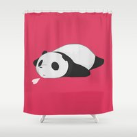 Panda 2 Shower Curtain